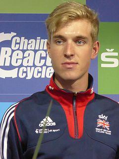 Oliver Wood (cyclist) British cyclist