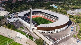 Helsinki Olympic Stadium Sports stadium in Helsinki, Finland