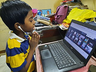 Distance education Mode of delivering education to students who are not physically present