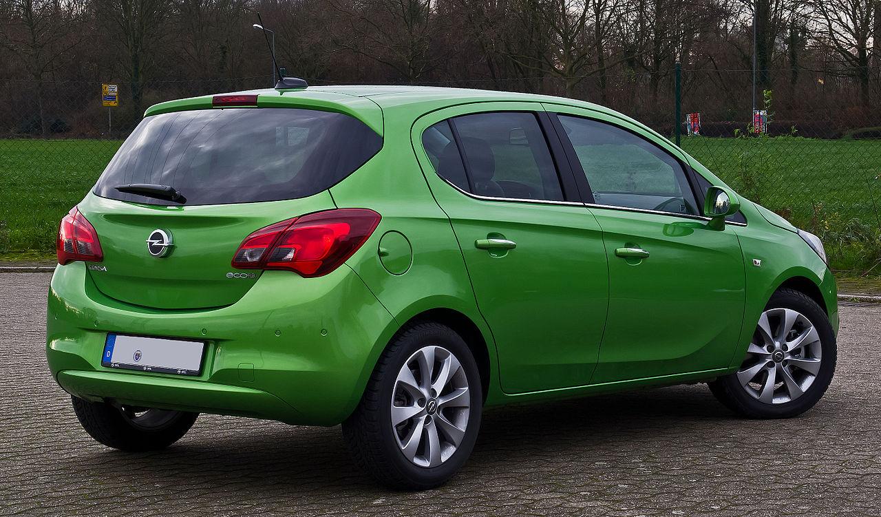 File:Opel Corsa 1.3 CDTI ecoFLEX Innovation (E) – Heckansicht, 24. Dezember 2015, Ratingen.jpg ...