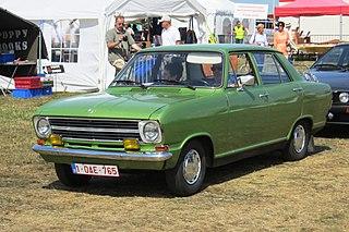 Opel Kadett German small car model