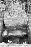 opgraving oude steunbeer rechter zijgevel achter - oud-valkenburg - 20180696 - rce