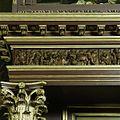 Oranjezaal vóór de restauratie- detail van het fries boven zijingang westzijde - 's-Gravenhage - 20418266 - RCE.jpg