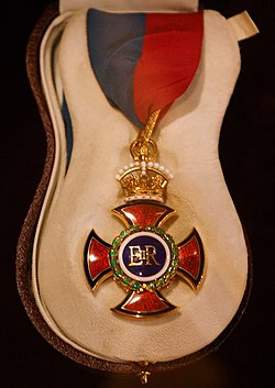 Order of Merit in Westminster Cathedral (in case).jpg