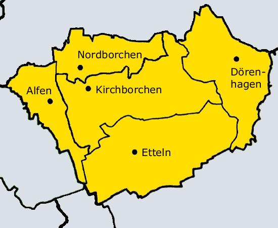 File:Ortsteile der Gemeinde Borchen.xcf