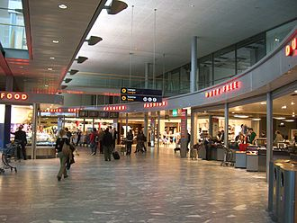 Duty-free shop - Duty-free stores at Oslo Airport in Oslo, Norway