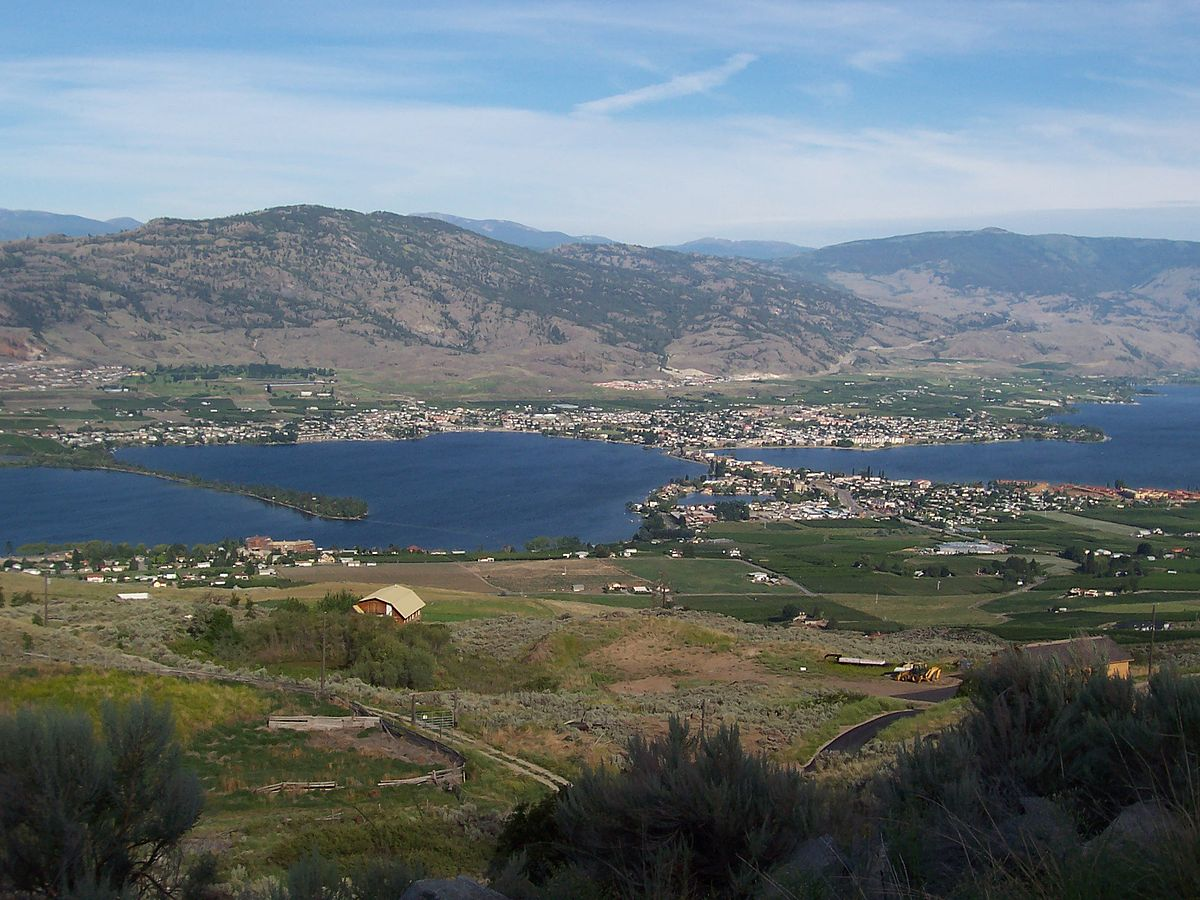 Vancouver To Okanagan Valley Property Of Oakangan Nation