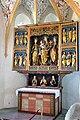 Ossiach Pfarrkirche Mariae Himmelfahrt Taufkapelle spaetgot Fluegelaltar 19092014 688.jpg