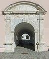 Ossiach ehem Benediktinerstift Westportal Aussenansicht 07032015 0396.jpg