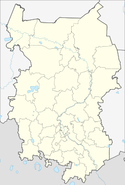 Omsk is located in Omsk Oblast