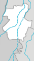Outline map of Novolakskiy District (with position on the map of Dagestan).png