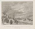 Overtocht van de Franse troepen over de Waal in januari 1795 De overtocht der Franschen over de Waal enz. in januarij 1795 (titel op object), RP-P-OB-26.554.jpg