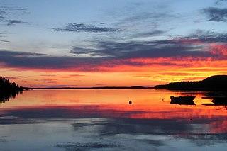 lake in central Finland