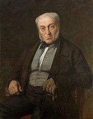 Portrait du père du peintre