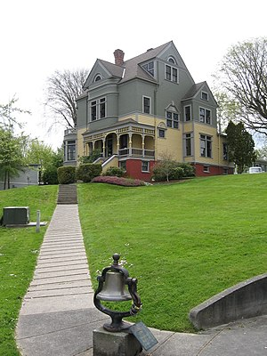Walker-Ames House, Port Gamble, Washington, bu...