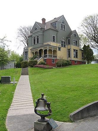 Port Gamble, Washington - Walker-Ames house in Port Gamble, WA.
