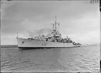 Pakistan Navy - Image: PNS Zulfiqar (K265) Former HMS Deveron