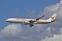 Airbus A340-300 der Surinam Airways