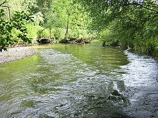 Paar river in Germany