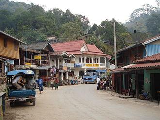 Oudomxay Province - Pak Beng