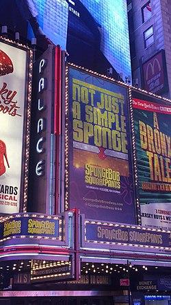 Palace Theatre New York City Wikipedia