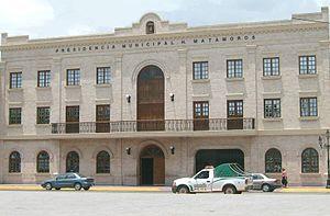 Matamoros, Tamaulipas - Municipal Palace in  Matamoros, Tamaulipas (Mexico).