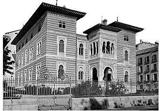 Palacio de Xifré - Facade of the Palacio de Xifré