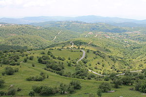 Novo Brdo - Image: Pamje nga Kalaja e Novobërdës 2