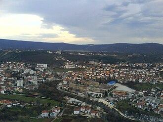 Široki Brijeg - The City of Široki Brijeg panorama