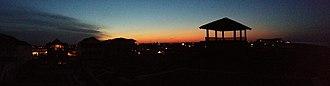 Kill Devil Hills, North Carolina - Image: Panorama of Kill Devil Hills at Night