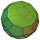 Parabidiminished rhombicosidodecahedron