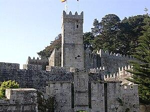 Baiona, Pontevedra - Castelo de Montereal