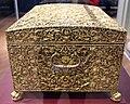 Parigi, jacob blanck, cofanetto per pietre preziose di luigi XIV, oro su legno di quercia, 1676, 02.JPG