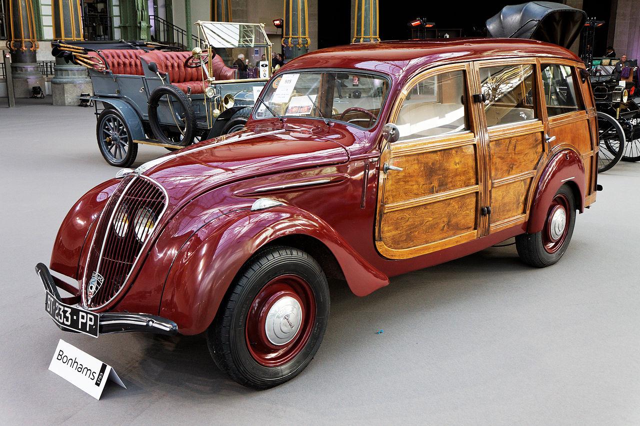 Peugeot 202 Canadienne