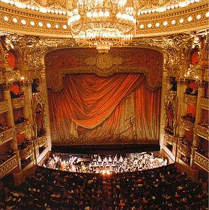 Paris Opera - The Palais Garnier opera house hall, Paris