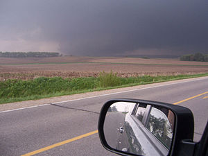 Parkersburg, Iowa - Parkersburg tornado after it struck the city (NWS Des Moines)