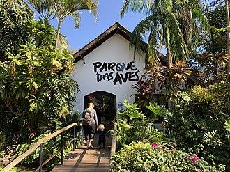 Parque das Aves - Entrance, February 2011