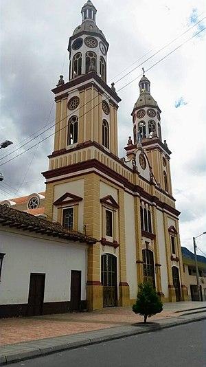 Simijaca - Image: Parroquia Inmaculada Concepción de Simijaca Cundinamarca
