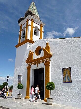 Aljaraque - Image: Parroquia de Nuestra Señora de Los Remedios Aljaraque