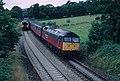 Passing trains - geograph.org.uk - 818953.jpg