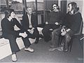 Pat Cox, (?), John Coakley, Martin Chapell at NIHE Limerick (9369038859).jpg