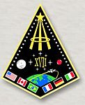 Patch do grupo 17 de astronautas da Nasa 1998