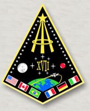 NASA Astronaut Group 17 - Group Patch
