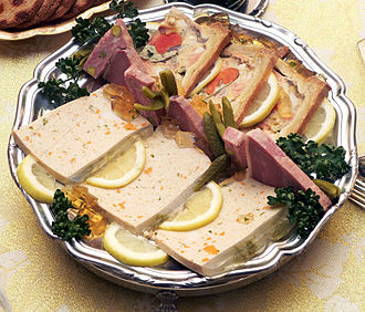 Offal - A variety of pâtés on a platter