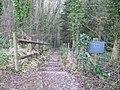Path towards Upper Hurst Brook - geograph.org.uk - 1108063.jpg