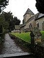 Path up to St John the Baptist, Sutton - geograph.org.uk - 1772634.jpg