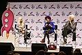 Patricia Quinn & Barry Bostwick RHPS Q&A at Galaxycon Richmond 2019 05.jpg
