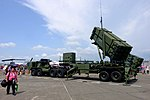 Patriot PAC-2 Launcher with HEMTT Display at Gangshan Air Force Base Apron 20170812b.jpg