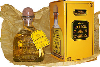 Patrón Brand of tequila products by the Patrón Spirits Company