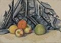 Paul Cézanne - Apples and Cloth (Pommes et tapis) - BF152 - Barnes Foundation.jpg